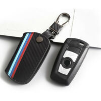 Auto Car Key Case Remote Fob Cover Bag Shell Holder For BMW F01 F33 F80 X1 X3