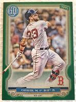 2020 Gypsy Queen Michael Chavis #222 Green Parallel - Red Sox