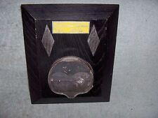 Vintage 1962 Georgetown Divide HillClimb Plaque Race Trophy Blown Piston Rat Rod