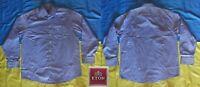 ●✿ ETON OF SWEDEN CLASSIC BLUE MEN'S DRESS SHIRT SIZE ADULT 44 17 1/2 ✿●
