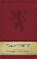 Game of Thrones, House Lannister, Ruled Hardcover Journal, 192 Pages