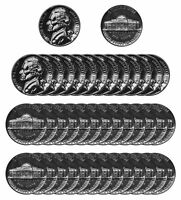 1962 Jefferson Nickel Gem Proof Roll (40 pcs) Coin