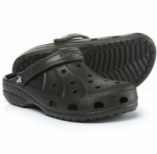 e47abe600a56c Crocs Ralen Clogs Black Mens 9 Womens 10 Roomy Fit