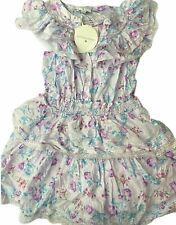 Women's Lou Double Ruffle Dress-LoveShackFancy-Lavender-Various Sizes-B380