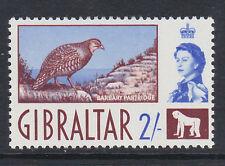 Gibilterra 1960 / 2-COLOR CIOCCOLATO & ULTRAMARINE SG 170 MNH.