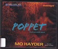 Poppet by Mo Hayder (2013, CD, Unabridged) A Jack Caffery Thriller, Book 6