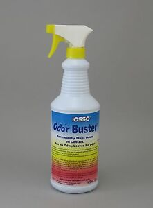 32oz IOSSO ODOR ODOUR BUSTER AIR CLEANER BOAT FABRIC CARPET FURNITURE SHOES TENT