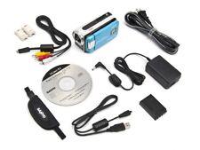 Sanyo Xacti VPC-WH1BL Blue Waterproof HD Dual Camera with 30x Optical Zoom NEW