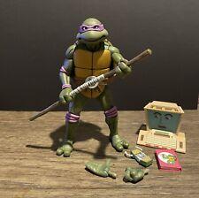 NECA Teenage Mutant Ninja Turtles Donatello Loose With Accessories