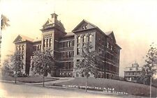 Erie PA St Vincent's Hospital in 1909 RPPC Postcard