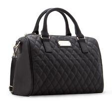 Damen Frauen Handtasche Schwarz Farbe Eimer Große Schultertasche Große taschen