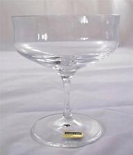 Villeroy & and Boch TOLEDO champagne bowl glass 24% lead crystal NEW handmade