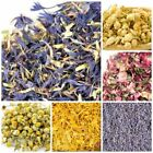 FRAGRANT DRIED FLOWERS & PETALS - ROSE LAVENDER CHAMOMILE MARIGOLD
