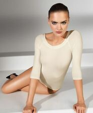 WOLFORD LISBON STRING BODY 75005, BODYSUIT, XS, Colour ecrue (1051) New in box