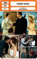 FICHE CINEMA : TENDRE VOYOU Belmondo,Tiller,Marielle,Becker1966 Tender Scoundrel