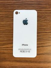 White A1332 Back Glass Battery Plate Door for Apple iPhone 4 4G