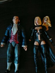 Marvel Legends Sebastian Shaw And Emma Frost Hellfire Club Figures X-Men Villain