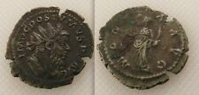 Superb Collectable Roman Bronze Coin Postumus (AD 259-268) Moneta Holding Scales