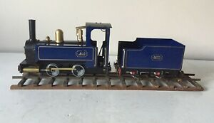 MSS MAMOD LIVE STEAM LOCOMOTIVE & TENDER ~ O GAUGE ~ VERY GOOD USED CONDITION