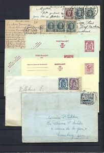 [LG12927] Belgium Nice lot Cover & Postal cards UNG