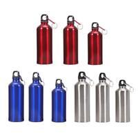 400/500/600ml Aluminum Portable Outdoor Bike Sports Water Bottle Drinking Kettle