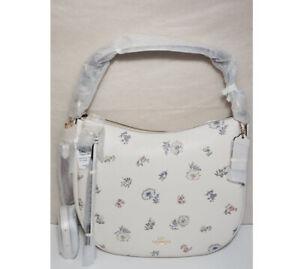 🌹NWT COACH Sutton Hobo 72492 shoulder bag Meadow Prairie DANDELION FLORAL