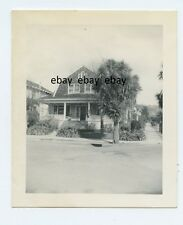Berkeley Ca 1944 - House 2647 Regent St - Porch & Palm Tree - American Culture
