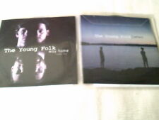 THE YOUNG FOLK - WAY HOME / LETTERS - 2 PROMO CD SINGLES - 2014