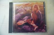 """CINZIA SASSO """"CINZIA SASSO- CD EMI It 1995"""""""