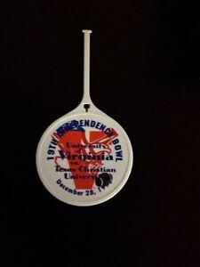 KT) 1994 Independence Bowl UNIVERSITY OF VIRGINIA UVA Cavaliers Travel Tag VA