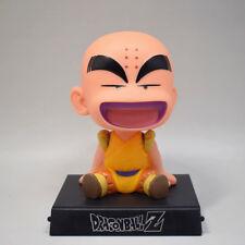 Anime Dragon Ball Z Krillin Figure Bubble Head Doll 12CM Toy New