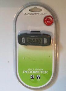 Brand New Sportline Step & Distance Digital Pedometer / Tracker