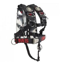 OMS SS Backplate with Comfort Harness OMS SS System II for Scuba Diving