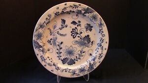 A Lovely Large English Delftware Charger