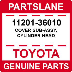 11201-36010 Toyota OEM Genuine COVER SUB-ASSY, CYLINDER HEAD
