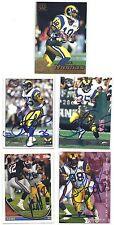 Jimmie Jones Signed / Autographed Football Card LA Rams 1995 Fleer