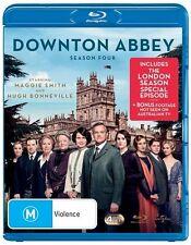 DOWNTON ABBEY SEASON 4 BLU-RAY=4 DISC SET=INC. LONDON SERIES=REGION B =LIKE NEW