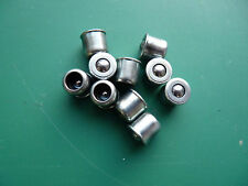 10 X 8mm Press Fit Button Oilers Aceite Lubricante puntos Lubricación Pezones Torno Molino