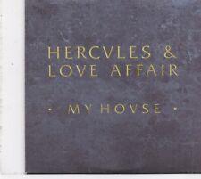 Hercules&Love Affair-My House Promo cd single