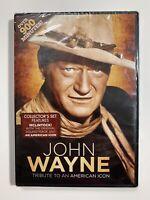 John Wayne: Tribute to an American Icon (DVD, 2013, 2-Disc Set) - New Sealed