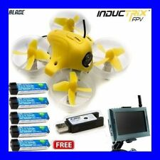 BRAND NEW BLADE INDUCTRIX FPV RTF RC QUADCOPTER DRONE 5x LIPO BATTERIES BLH8500