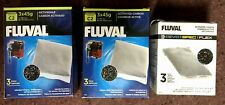 3 BOXES FLUVAL 3x45 ACTIVATED CARBON AQUARIUM FILTERS; 9 FILTERS; BRAND NEW!