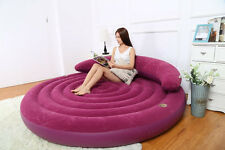 "Intex Sofa bed Inflatable Lounge, 75"" X 20"" with Electronic Pump"