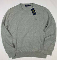 NWT Men's Polo Ralph Lauren Sweater PIMA Cotton Crew Neck XL XXL
