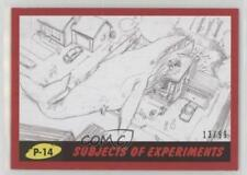 2017 Topps Mars Attacks: The Revenge #P-14 Subjects of Experiments /99 Card 3j2