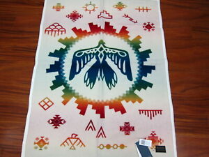 """Pendleton Sunrise Eagle Muchacho Baby Blanket  32""""x44""""  Made in USA!!"""