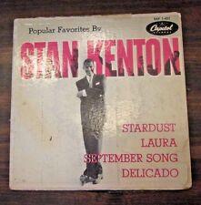 Popular Favorites by Stan Kenton EP (Capitol) 45 RPM