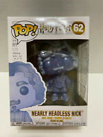 FUNKO POP! HARRY POTTER #62 NEARLY HEADLESS NICK GHOST VAULTED