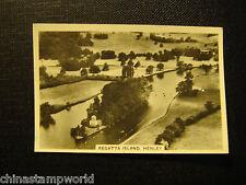 old GB cigarettes card,Britain fm the air,series of 48,,regattaisland,Henley 14