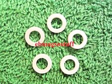 Lot of 5 White -Whitish Synthetic Spacer Washers for Sling Swivel Mounting Studs